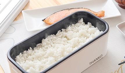 2021日本電子鍋推薦thanko超高速蒸煮便當盒