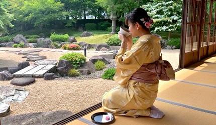 日本山阴山阳自由行推荐推介山口市和服体验