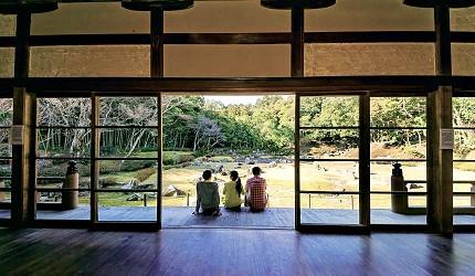 日本山阴山阳自由行推荐推介山口市庭园内观
