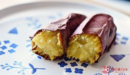 日本蕃薯華御結即食超甜蕃薯微波爐焗爐燴蕃薯在冒煙