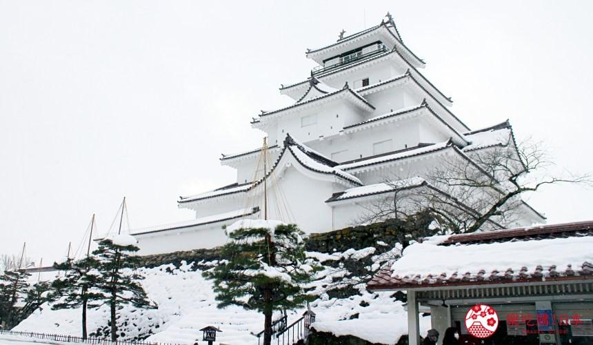 日本東北自駕遊福島縣旅遊山形縣自由行景點推薦美食推介住宿整理冬季時的鶴城