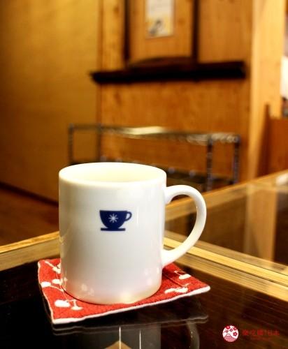 日本東北自駕遊福島縣旅遊山形縣自由行景點推薦美食推介住宿整理鷹山堂米澤小紋的咖啡休憩區