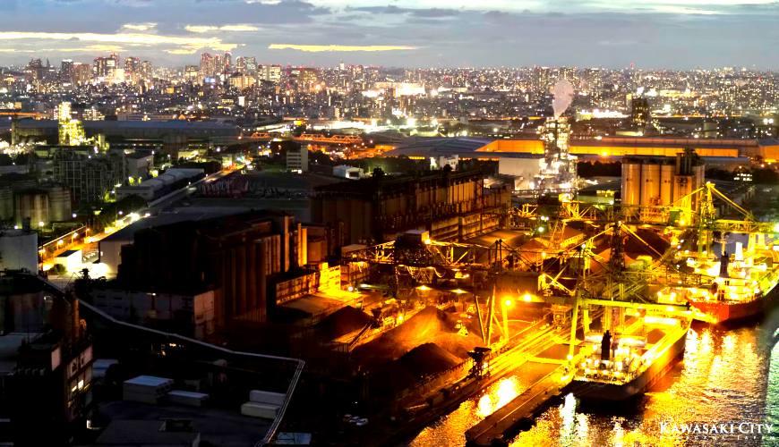 川崎市景點推薦川崎工場夜景