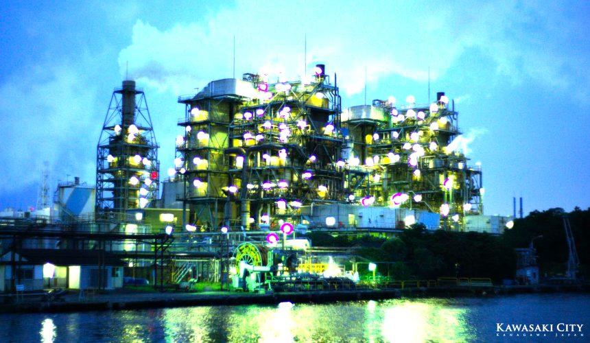 川崎市景點推薦京濱工業區工廠夜景