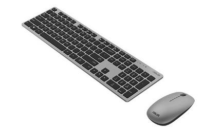 電腦鍵盤推薦ipad鍵盤推介羅技無線藍芽靜音打字電競機械式鍵盤清潔建議華碩ASUS無線鍵盤滑鼠組W5000