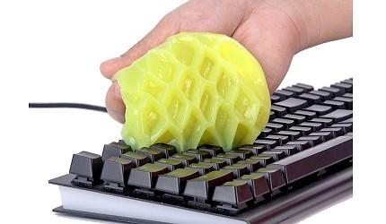 電腦鍵盤推薦ipad鍵盤推介羅技無線藍芽靜音打字電競機械式鍵盤清潔建議工具重用果凍啫喱