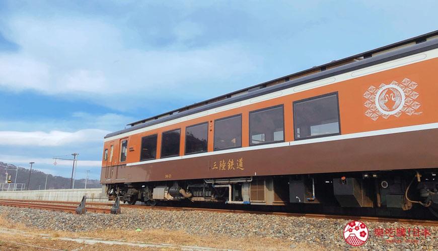 日本東北自由行宮城岩手景點推薦三陸鐵道