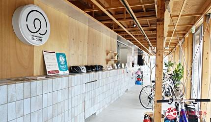 靜岡自由行景點推薦濱松市濱名湖環湖腳踏車HAMANAKOENGINE腳踏車租借站