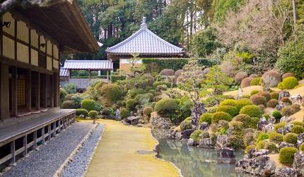 靜岡自由行景點推薦濱松市國家指定文化財龍潭寺的龍潭寺庭園