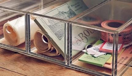 收納盒推薦透明收納架推介無印良品muji抽屜收納用品商品示範圖