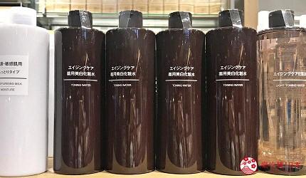 平價化妝水推薦無印良品MUJI濕敷化妝水用途推介成分天然藥用美白化妝水