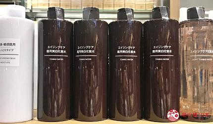 平價保養品推薦muji乳液精華液好用推介藥用美白系列化妝水成分