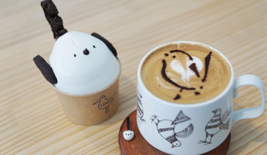 北海道自由行冬天推荐玩法6个札幌近郊景点推荐千岁市咖啡厅THEBIRDWATCHINGCAFE雪之妖精咖啡冰淇淋