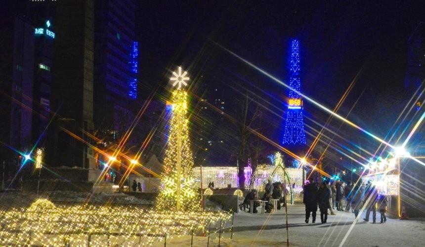 北海道自由行冬天推荐玩法6个札幌近郊景点推荐札幌白色灯饰节浪漫点灯活动大通公园圣诞市集