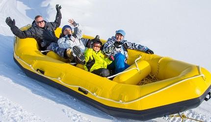 北海道自由行冬天推荐玩法6个札幌近郊景点推荐SnowmobileLandSapporo雪上户外活动