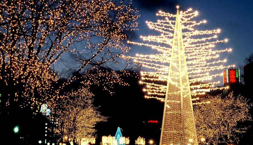 北海道自由行冬天推荐玩法6个札幌白色灯饰节浪漫点灯活动