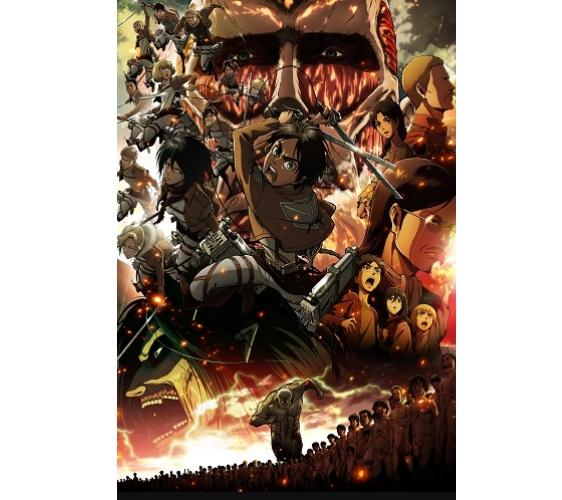 《進擊的巨人》動畫圖片示意圖之一