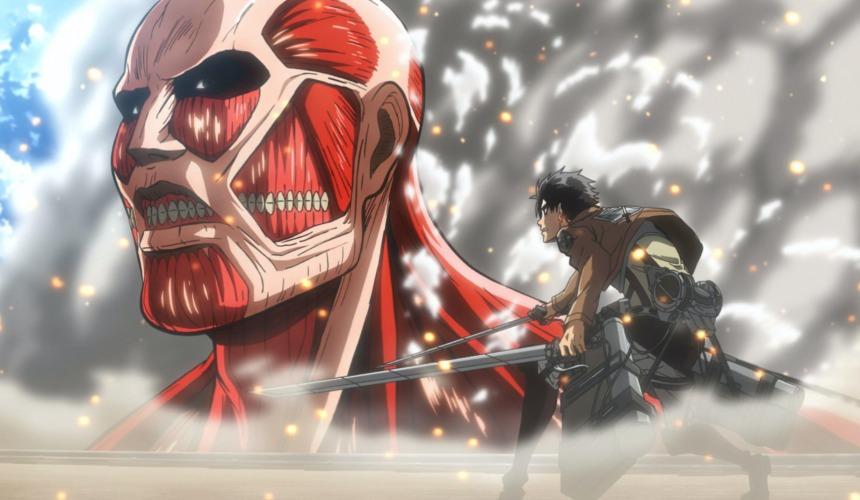 《進擊的巨人》動畫一景