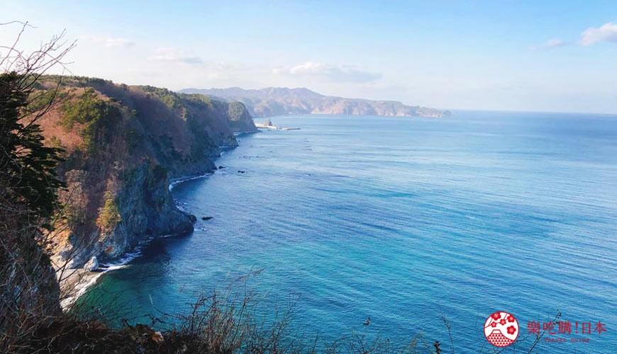日本東北自由行宮城岩手景點推薦鵜之巢斷崖