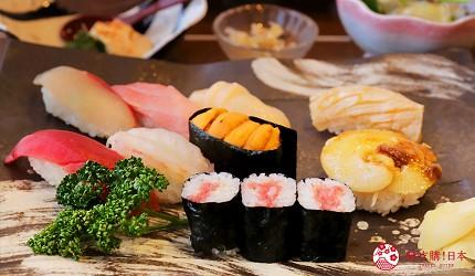 日本東北自由行宮城岩手景點推薦魚翅壽司