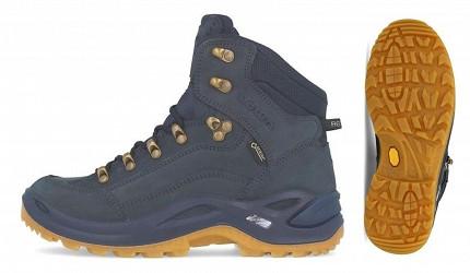 登山鞋推薦行山鞋推介好看好穿爬山安全防滑GORETEX防水LOWA 中筒防水多功能健行鞋