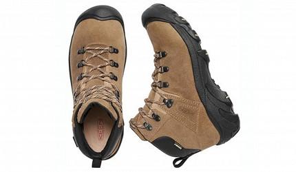 登山鞋推薦行山鞋推介好看好穿爬山安全防滑GORETEX防水KEEN Pyrenees 真皮中筒防水登山鞋