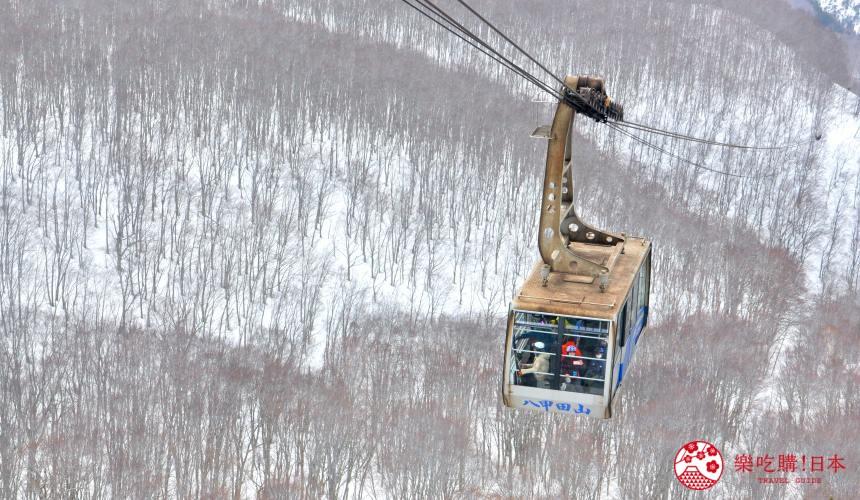 東北青森自由行景點推薦八甲田纜車樹冰