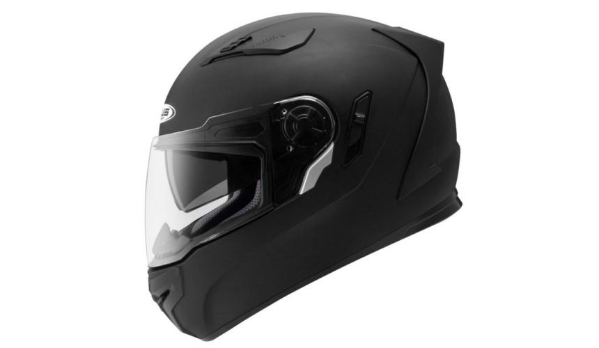 推薦10大摩托車機車安全帽品牌台灣國產全罩式ZEUS瑞獅ZS-813黑色款