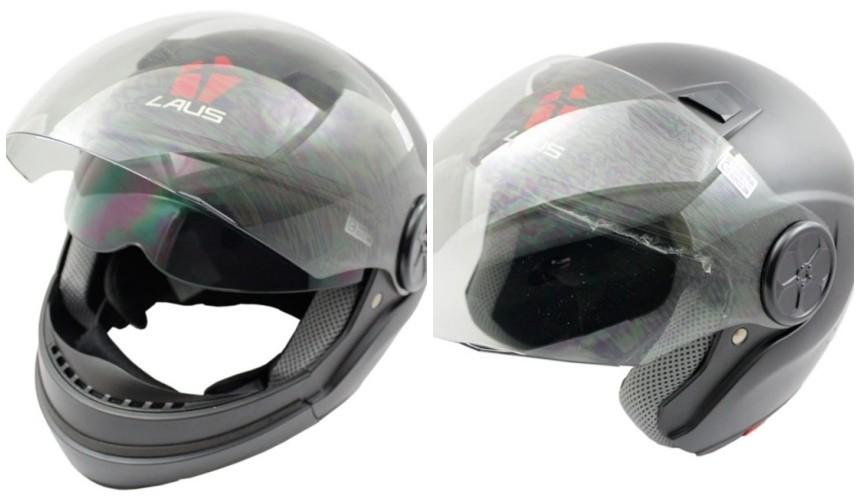推薦10大摩托車機車安全帽品牌OMAX可拆式安全帽LAUS全罩式四分之三式可自行調整