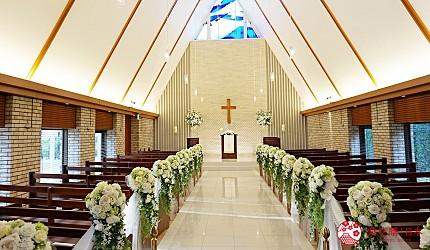 結婚紀念日日本自由行推薦愛媛縣新居濱市RIHGAROYALHOTEL新居濱飯店教堂