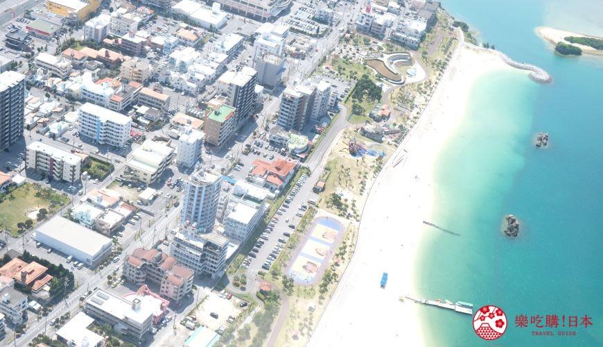 沖繩中部自駕沖繩市宇流麻市景點推薦搭乘直升機賞沖繩海景街景