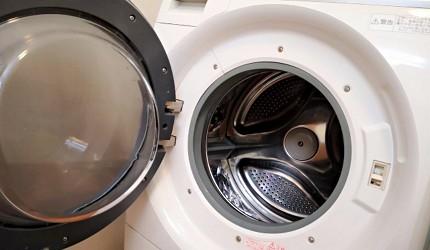 洗衣機品牌推薦牌子推介評價變頻滾筒迷你折疊直立分別比較大眼雞洗衣機被打開蓋清潔