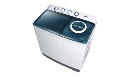洗衣機品牌推薦牌子推介評價變頻滾筒直立雙槽分別乾淨比較聲寶 定頻雙槽洗衣機