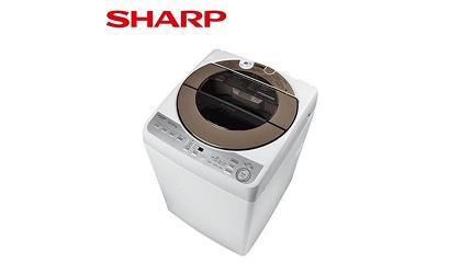 洗衣機品牌推薦牌子推介評價變頻滾筒直立分別乾淨比較夏普 不鏽鋼無孔槽變頻洗衣機