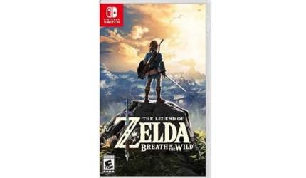 2021年最新任天堂Switch必玩必買10大遊戲推薦薩爾達傳說曠野之息封面