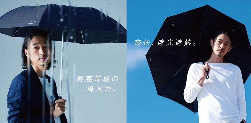 晴雨兩用折疊傘Wpc. IZA系列