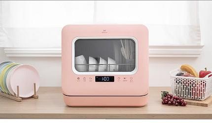 省水洗碗機推薦好用獨立式洗碗機推介美寧 標準型熱旋風洗碗機 JR-5E6201
