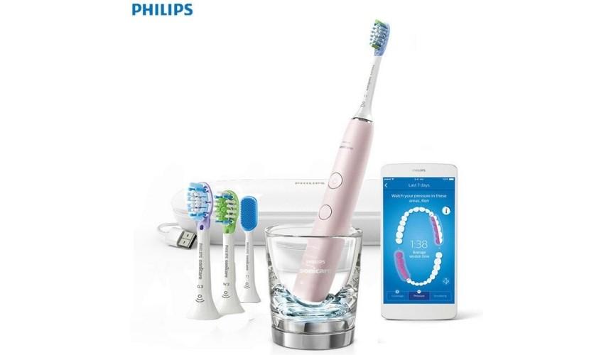推薦10大人氣電動牙刷2大重點教你選購品牌口碑款飛利浦 Sonicare Smart 鑽石靚白智能音波電動牙刷