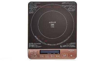 IH電磁爐推薦不挑鍋子料理原理推介迷你HITACHI 桌上型 IH 爐