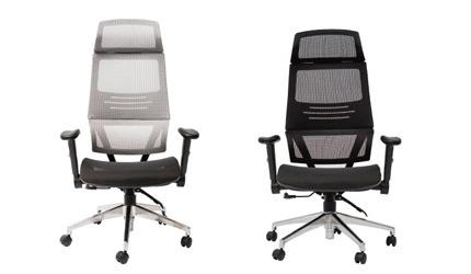 推薦居家辦公WFH在家工作在宅勤務10大人氣辦公椅電腦椅電競椅主管椅完美主義居家設計Leeds人體曲線全網透氣辦公椅
