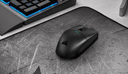 電競滑鼠推薦2021推介高DPI有線無線FPS遊戲專用差別比較Corsair 海盜船 KATAR PRO 無線電競滑鼠