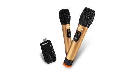 無線麥克風品牌推薦藍芽配對卡拉OK咪推介在家KTV手機唱歌裝備挑選aibo 歡唱 K 歌神器