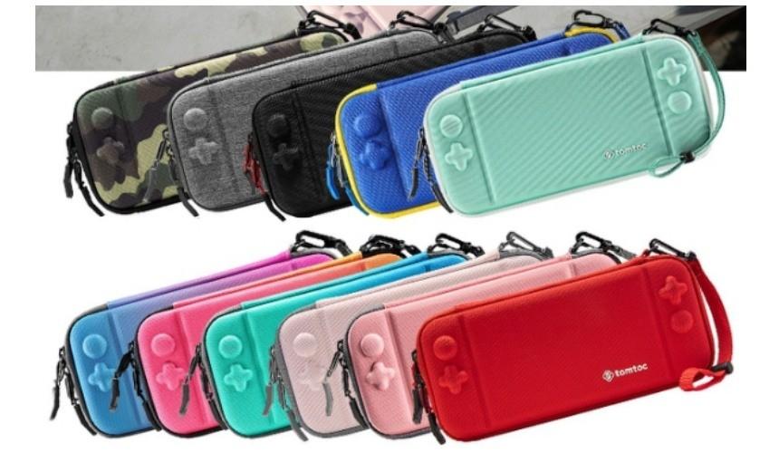推薦必買10款任天堂NintendoSwitch收納包保護包Tomtoc二代任天堂Switch保護收納旅行包