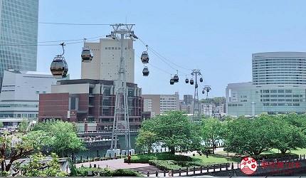 東京自由行東京2021新景點新開幕景點推薦橫濱纜車YOKOHAMA-AIR-CABIN