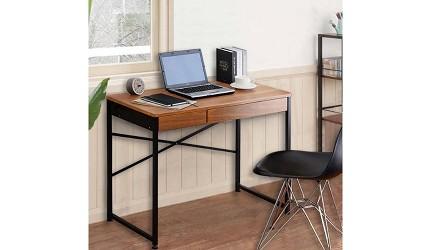 辦公書桌推薦電腦桌推介L型書桌挑選重點品牌C&B Justice 系列兩抽屜實用電腦書桌