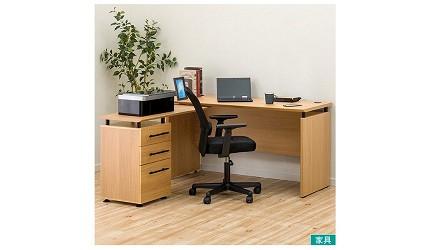 辦公書桌推薦電腦桌推介L型書桌挑選重點品牌宜得利家居 LAVORO 140 系統桌電腦桌