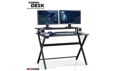 辦公書桌推薦電腦桌推介L型書桌挑選重點品牌RICHOME WARRIOR 電競遊俠電腦桌