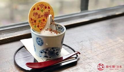 銀山溫泉介紹銀山溫泉街必吃美食伊豆之華蕎麥冰淇淋