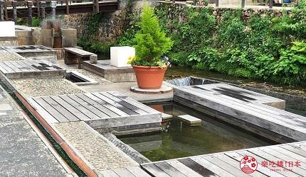 銀山溫泉介紹銀山溫泉街景點免費足湯和樂足湯