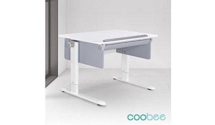 兒童書桌推薦成長書桌推介台灣製實木書桌高度選購指南文章Coobee 雙板型成長機能桌